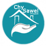 This image displays the logo of Mental Health Charity The Chy Sawel Project, championing an holistic approach to treating anxiety, depression and stress.
