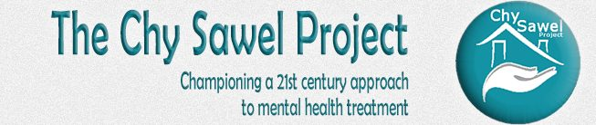 This is the site identity image on the website of Mental Health Charity The Chy Sawel Project, championing an holistic approach to treating anxiety, depression and stress.
